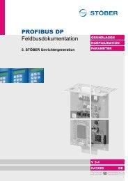 PROFIBUS DP Feldbusdokumentation - STÖBER ...