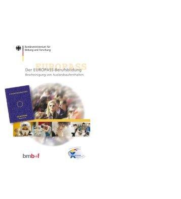 EUROPASS- Berufsbildung - Eu-Info.deutschland