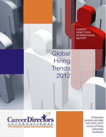Global Hiring Trends 2012 - Career Directors International