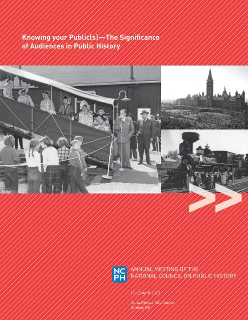 Verwonderend Knowing your Public(s) - National Council on Public History MV-48