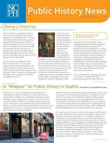 Number 3 | June 2012 (pdf) - National Council on Public History