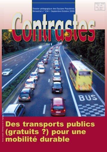 Transports publics - Contrastes sept 2009 (pdf) - Equipes Populaires