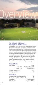 Overview - University of Bridgeport - Page 4