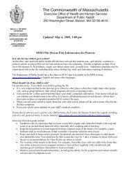 PANDEMIC FLU ACTION KIT FOR SCHOOLS - Hanover Public ...