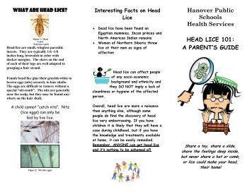 Head Lice 101: A Parents Guide with Tips, Facts, and Information (pdf)
