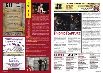 PHONIC RAPTURE - Luton at Large Online