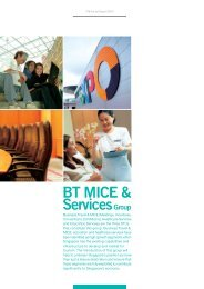 BT MICE & Services - Singapore Tourism Board