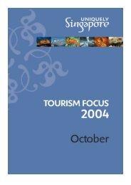 Tourism Focus-cover-Oct04.pub - Singapore Tourism Board