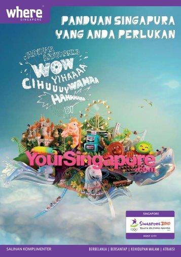 panduan singapura yang anda perlukan - Singapore Tourism Board