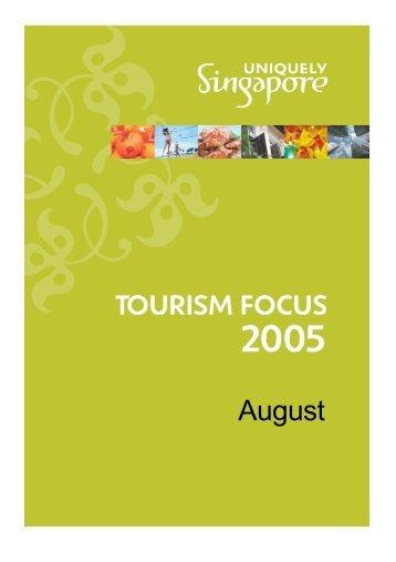 Tourism Focus_cover_Aug05.pub - Singapore Tourism Board