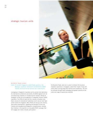 strategic tourism units - Singapore Tourism Board