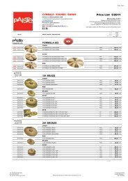 prices and specifications subject to change without - Musicworld.bg