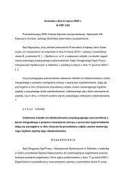 Uchwała z dnia 6 marca 2003 r. III PZP 3/03 ... - E-prawnik