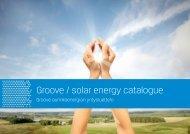 Groove / solar energy catalogue - Finnpartnership