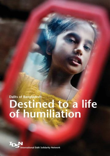 Destined to a life of humiliation - International Dalit Solidarity Network