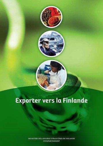 Exporter vers la Finlande