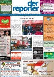 Fax 76 01 544 Verkauf - Vermietung - Service - Der Reporter