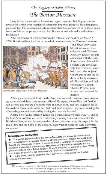 persuasive essay on boston massacre Boston massacrethe boston massacre was not really a massacre april 02, 2018, from essay examples persuasive.