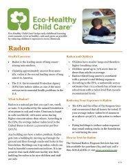 Radon - Oregon Environmental Council