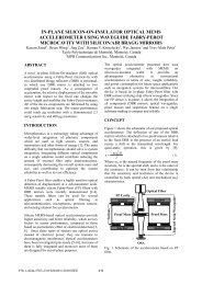 in-plane silicon-on-insulator optical mems accelerometer using ...
