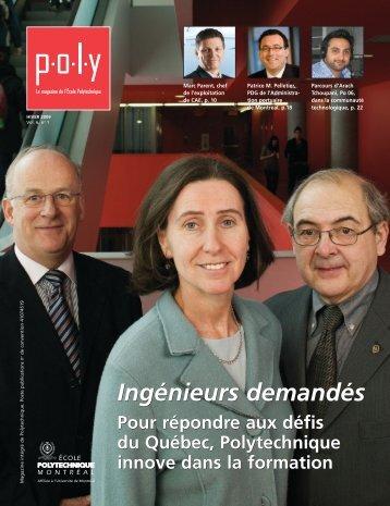 Magazine Poly - École Polytechnique de Montréal