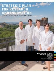 strategic plan for research and innovation - École Polytechnique de ...