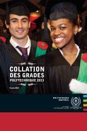 COLLATION - École Polytechnique de Montréal