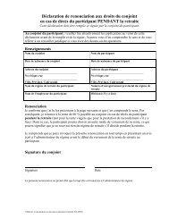 Déclaration de renonciation aux droits du conjoint en cas de décès ...
