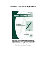 ISSN 0361-5235, Volume 39, Number 5