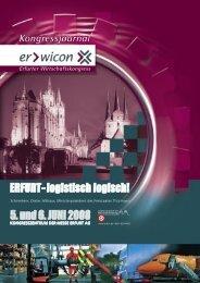 erwicon - Erfurter Wirtschaftskongress  2008 - Kongressjournal