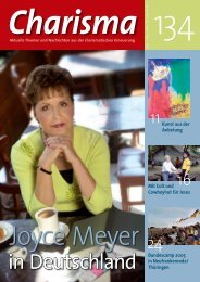Joyce Meyer in Deutschland - Charisma Magazin