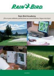 Rain Bird Academy - Rain Bird Ibérica