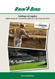 Catálogo de regalos - Rain Bird Ibérica