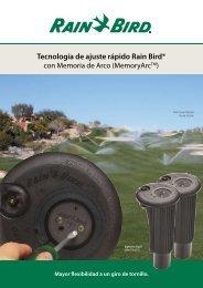 Rain Bird® 700 y 751 - Rain Bird Ibérica