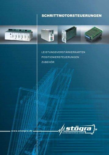 SCHRITTMOTORSTEUERUNGEN - STÖGRA Antriebstechnik GmbH
