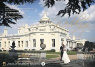 Wedding Brochure 2013 - Stoke Park