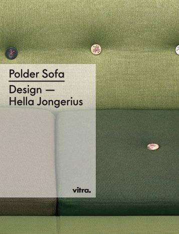Polder Sofa Design — Hella Jongerius - Stoll Wohnbedarf