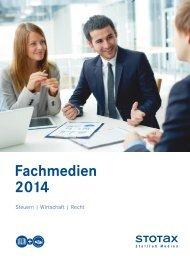 Fachmedienverzeichnis 2014 - Stollfuß Medien