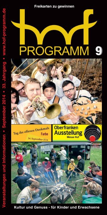hof-programm - September 2014