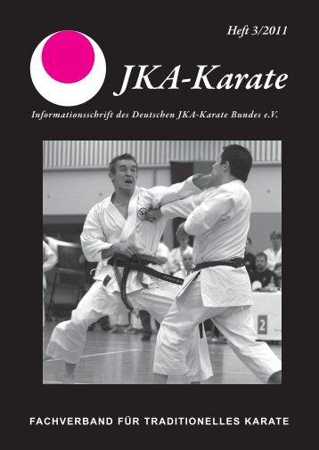 #00000_JKA Heft 3-2011 - Deutscher JKA-Karate-Bund e.V.