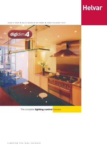 Helvar Digidim 4 - footprint.pmd - Isec Solutions