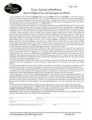 Equine Activity Liability Release, Waiver of Right to Sue and ...