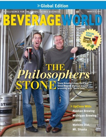 Beverage World Mar 2011 cover issue - Beer