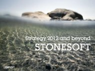 Stonesoft strategy and competitive advantage