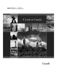 A Look at Canada - The Globe and Mail