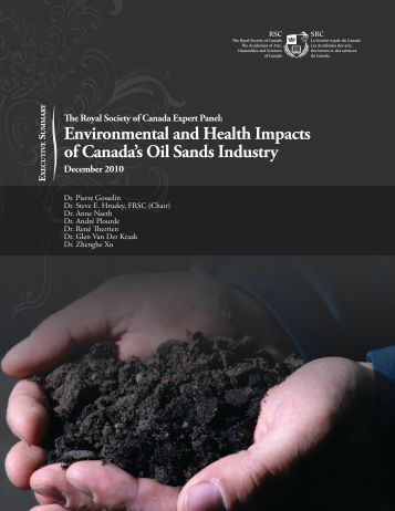 Environmental and Health Impacts of Canada's Oil Sands Industry