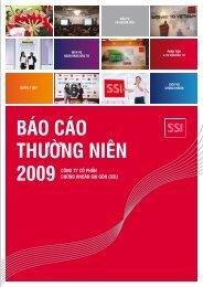 Báo cáo thường niên 2009