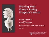 Proving Your Energy Saving - Energy Program