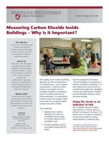 Measuring Carbon Dioxide Inside Buildings - Energy Program ...