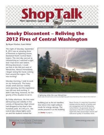 ShopTalk-Winter_March 2013.pdf - Energy Program - Washington ...